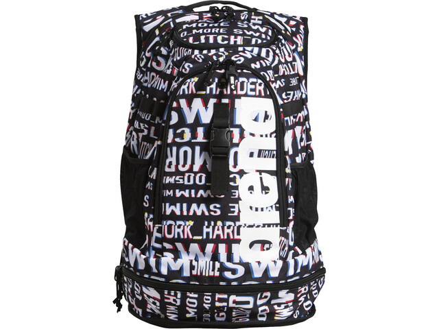 arena Fastpack 2.2 Allover Backpack neon glitch